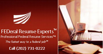 Federal Resume Writers Federal Resume Service USAJOBS Federal